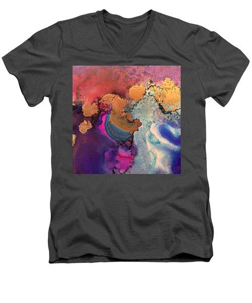 Estuary Of My Heart Men's V-Neck T-Shirt by Tara Moorman