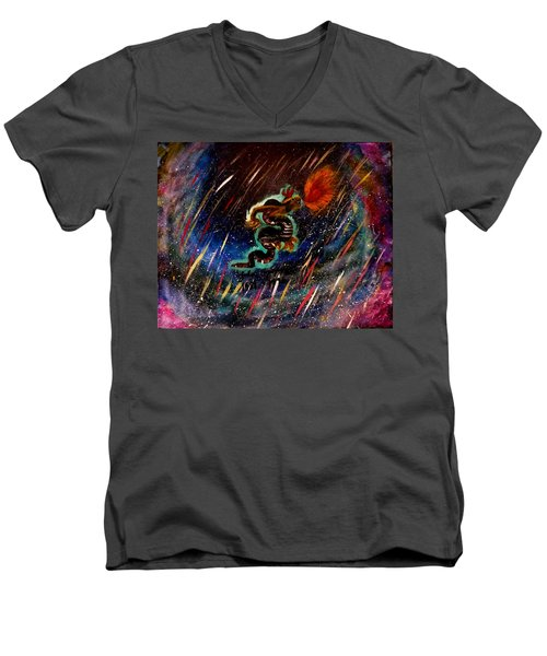 Eternal Flame  Men's V-Neck T-Shirt