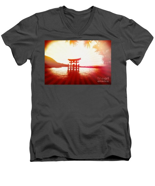 Eternal Japan Men's V-Neck T-Shirt
