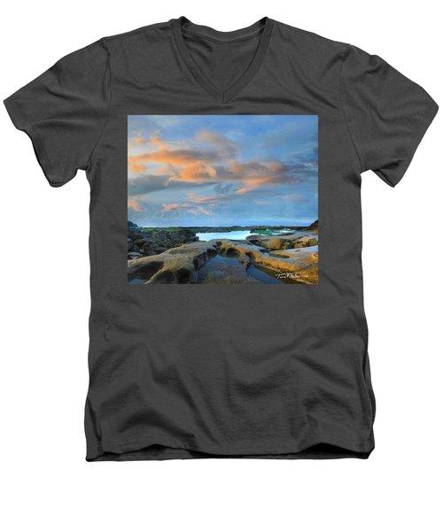 Eternal Soul Men's V-Neck T-Shirt