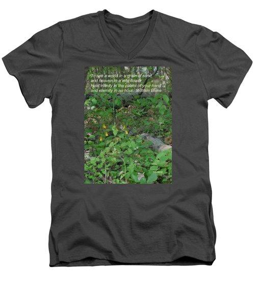 Eternity In An Hour Men's V-Neck T-Shirt
