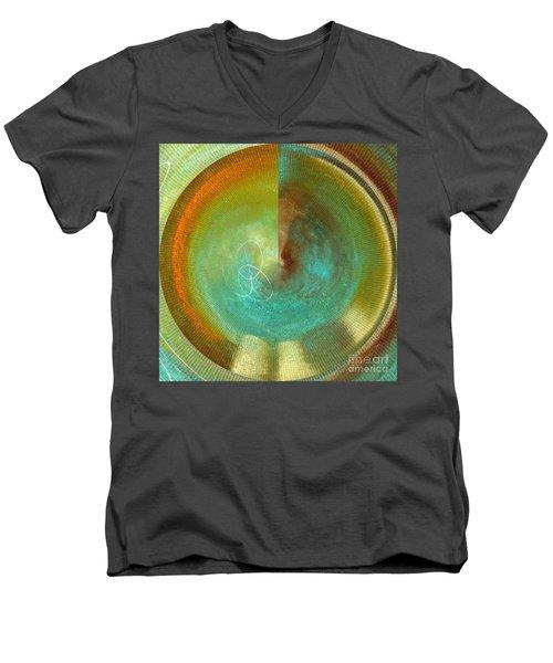 Eternity Polar Effect Men's V-Neck T-Shirt by Saribelle Rodriguez