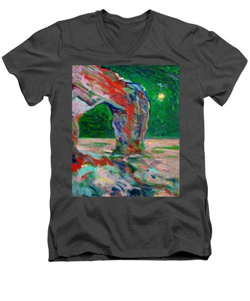 Etretat-6 Men's V-Neck T-Shirt