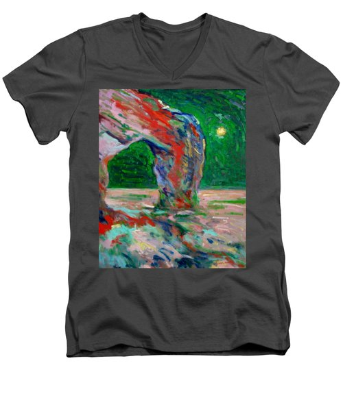 Etretat-6 Men's V-Neck T-Shirt