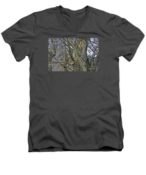 Eucalyptus Study Men's V-Neck T-Shirt