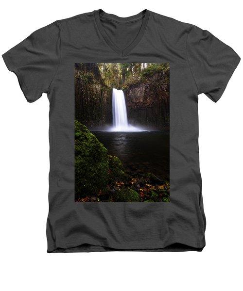 Evenflow Men's V-Neck T-Shirt by Bjorn Burton