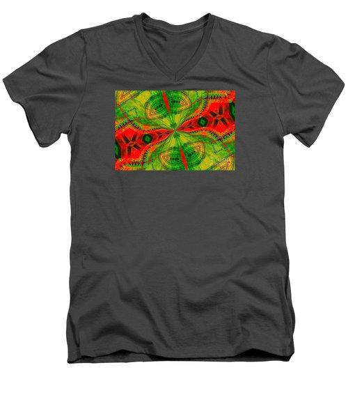 Evening Attitude Men's V-Neck T-Shirt