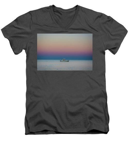 Evening Charter Men's V-Neck T-Shirt