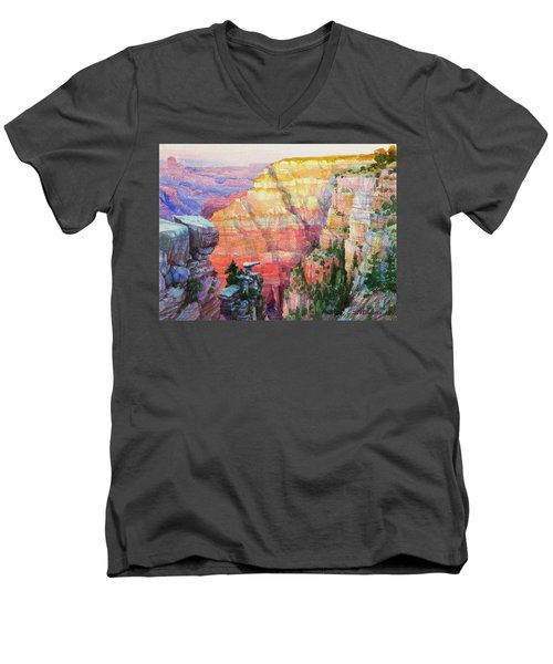 Evening Colors  Men's V-Neck T-Shirt