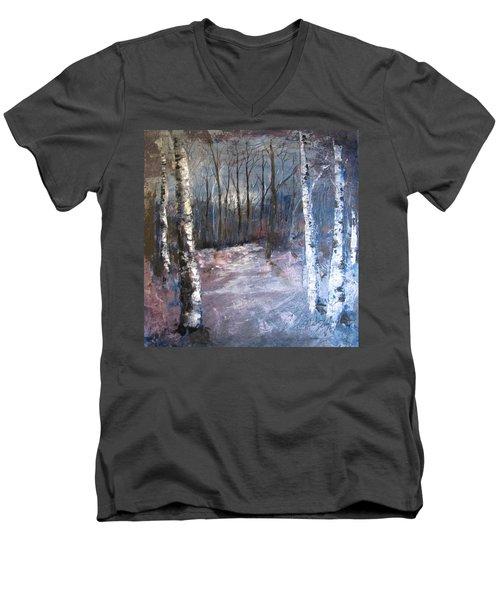 Evening Medow Men's V-Neck T-Shirt