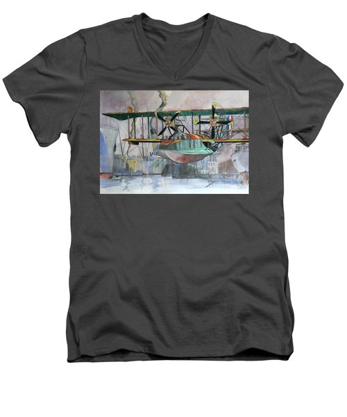 Evening Patrol Men's V-Neck T-Shirt