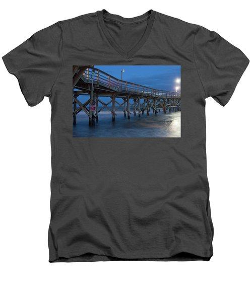 Evening Pier Men's V-Neck T-Shirt