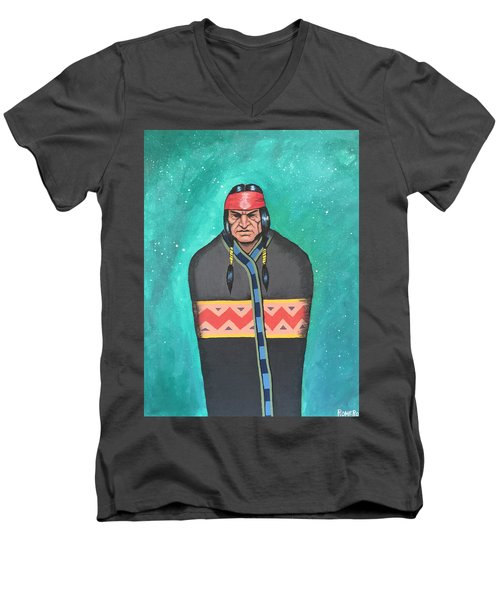 Evening Prayer Men's V-Neck T-Shirt