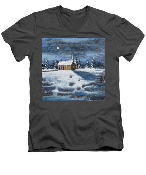 Evening Prayers Men's V-Neck T-Shirt