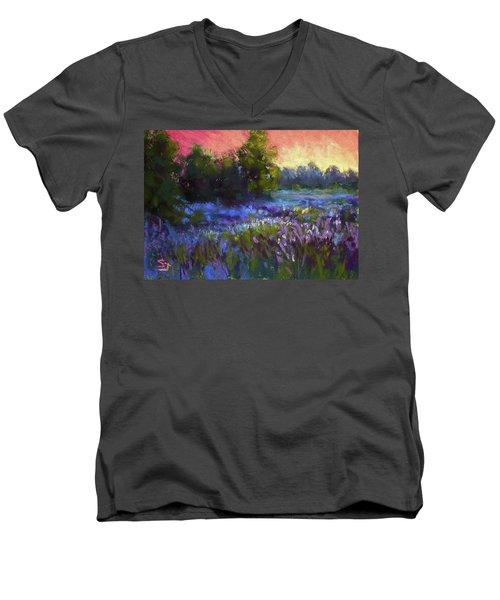 Evening Serenade Men's V-Neck T-Shirt