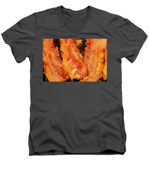 Everything's Better With Bacon Men's V-Neck T-Shirt