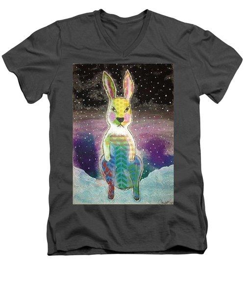Evil Bunny Men's V-Neck T-Shirt
