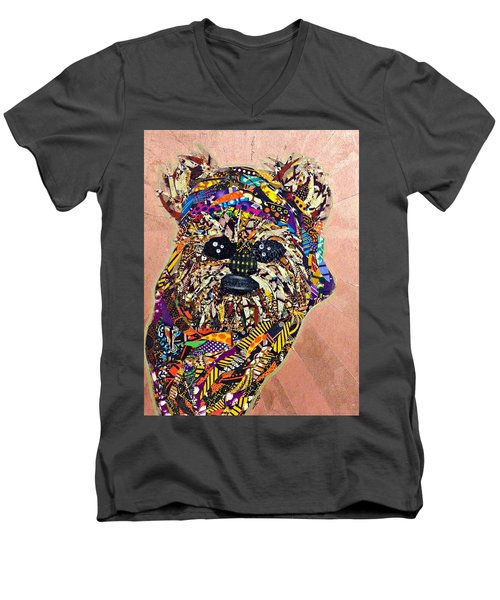 Ewok Star Wars Afrofuturist Collection Men's V-Neck T-Shirt