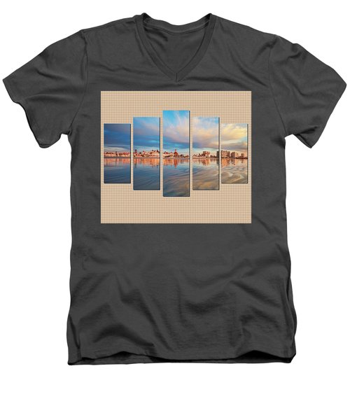 Example Panels Men's V-Neck T-Shirt