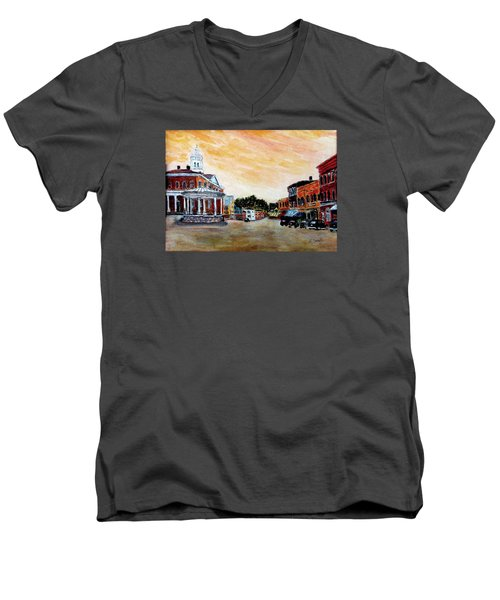Exeter Nh Circa 1920 Men's V-Neck T-Shirt