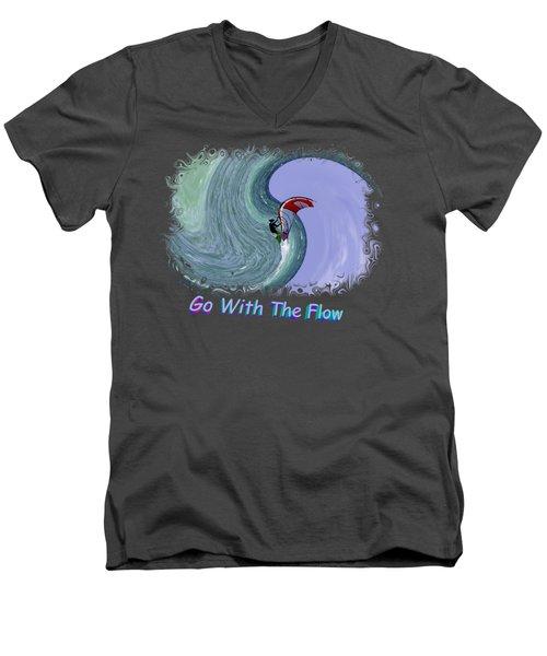 Exhilaration 2 Men's V-Neck T-Shirt