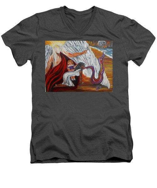 Exorcismo Men's V-Neck T-Shirt
