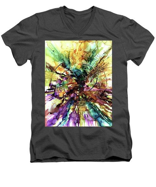 Expanding Universe Men's V-Neck T-Shirt