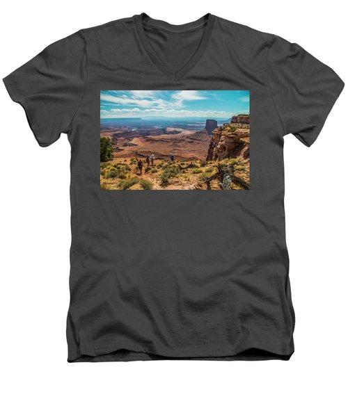 Expansive View Men's V-Neck T-Shirt