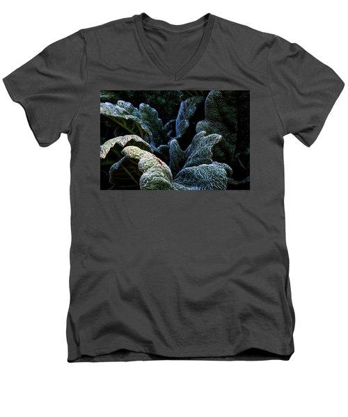 Experiencing Green Men's V-Neck T-Shirt