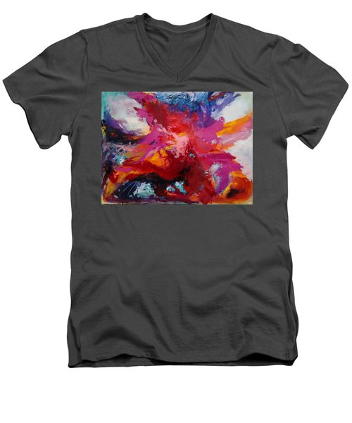 Exploring Forms Men's V-Neck T-Shirt