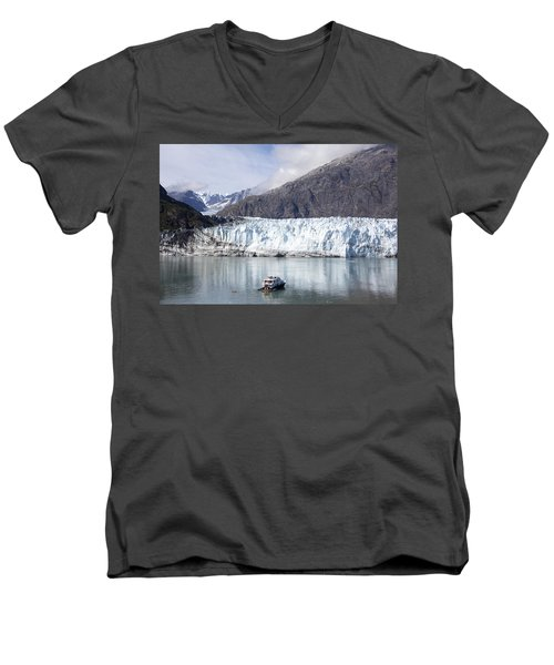 Exploring Glacier Bay Men's V-Neck T-Shirt