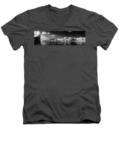 Exploring Ir Men's V-Neck T-Shirt