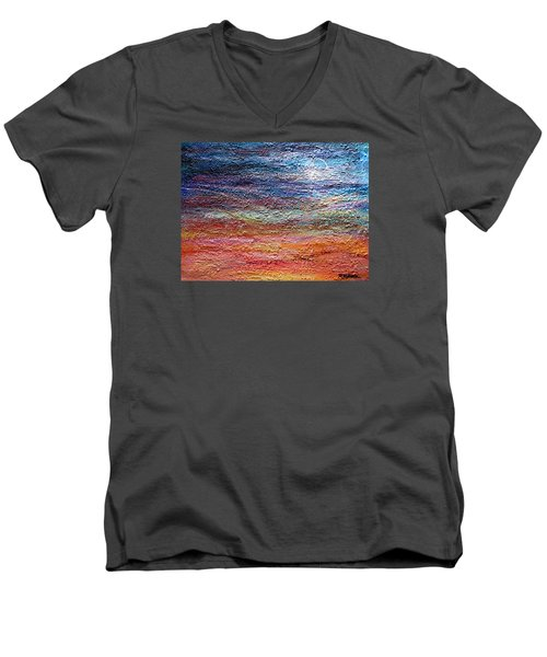 Exploring The Surface Men's V-Neck T-Shirt