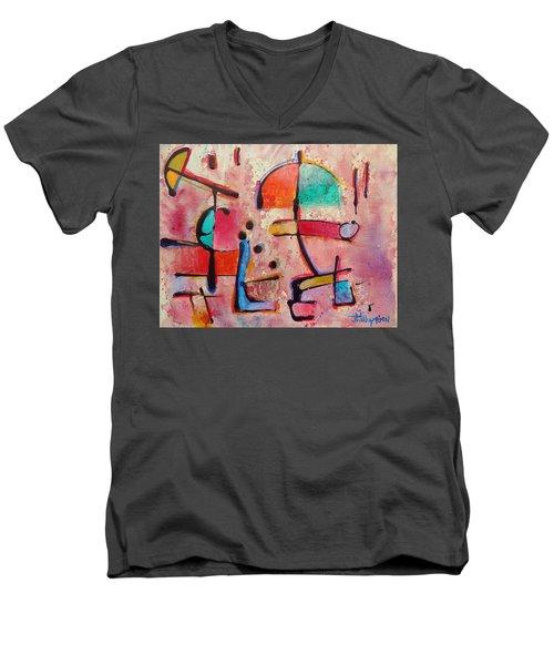 Expression # 12 Men's V-Neck T-Shirt