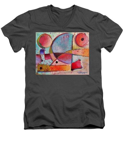 Expression # 13 Men's V-Neck T-Shirt