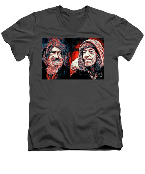 Expressions Men's V-Neck T-Shirt
