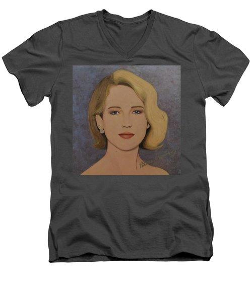Exquisite - Jennifer Lawrence Men's V-Neck T-Shirt