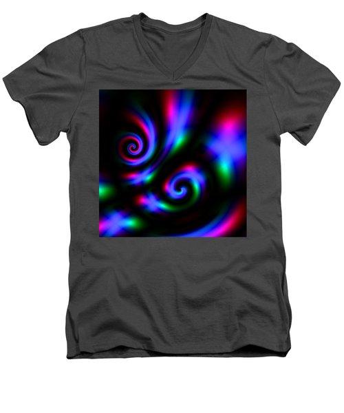Exthusones Men's V-Neck T-Shirt