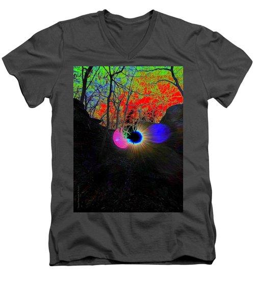 Eye Of Nature Men's V-Neck T-Shirt