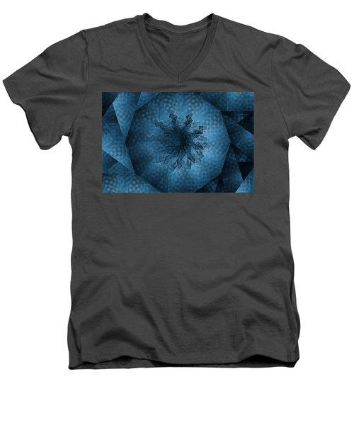 Eye Of The Crystal Men's V-Neck T-Shirt