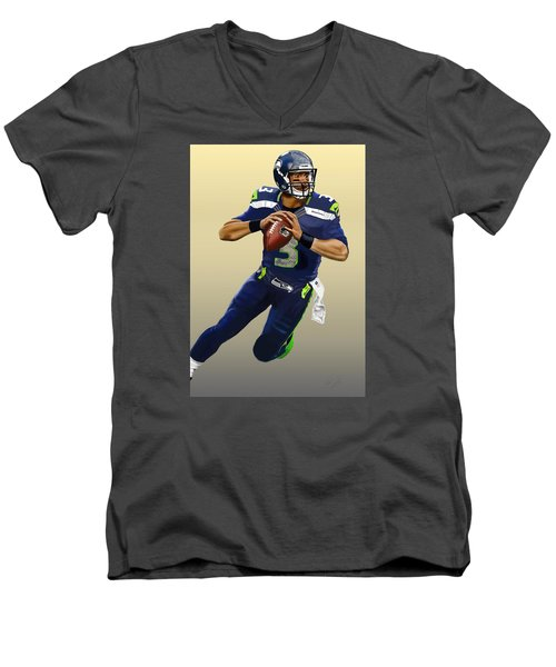 Eye Of The Hawk Men's V-Neck T-Shirt