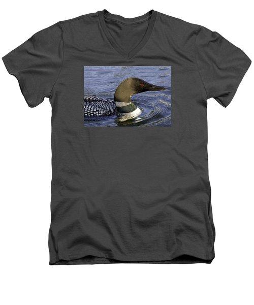 Eye Of The Loon Men's V-Neck T-Shirt