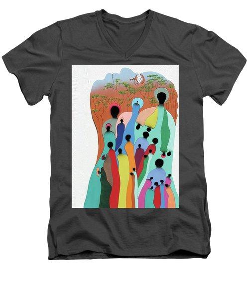 Eye Of The Spirit Men's V-Neck T-Shirt