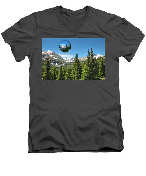 Eye On Summit County Men's V-Neck T-Shirt