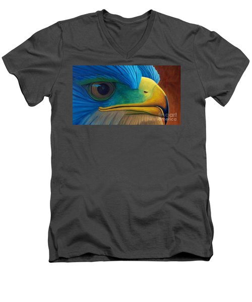 Eye On The Prize Men's V-Neck T-Shirt