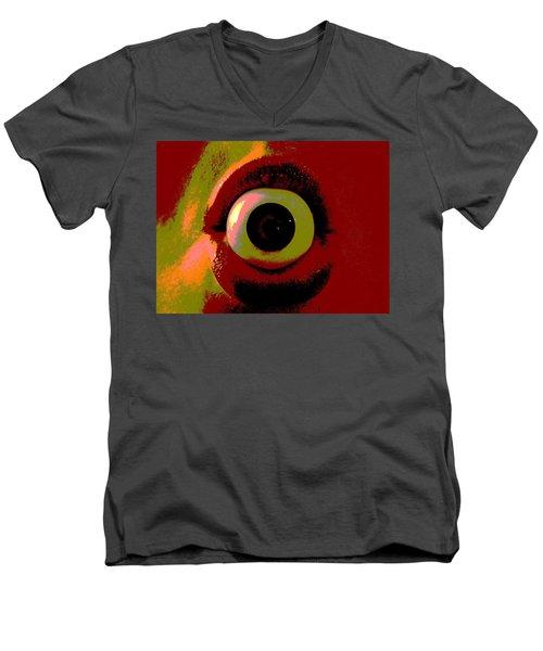 Eye See You  Men's V-Neck T-Shirt