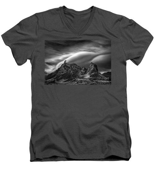 Eystrahorn, Iceland Men's V-Neck T-Shirt