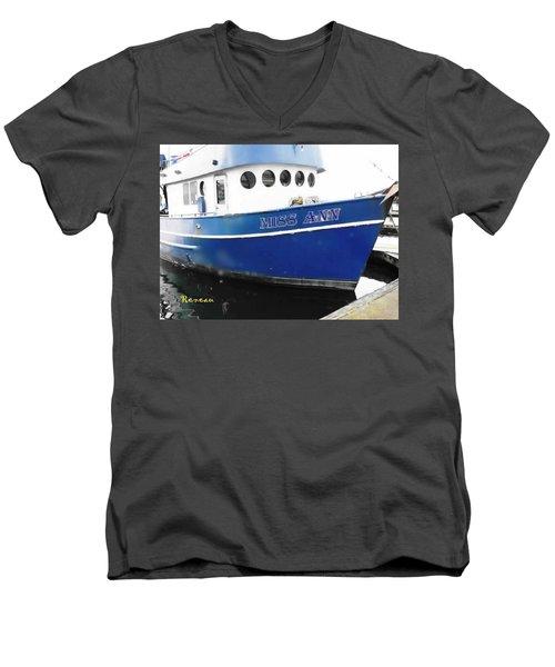 F V Miss Ann Men's V-Neck T-Shirt