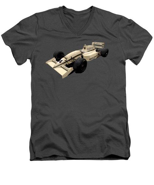 F1 B Racer Art Men's V-Neck T-Shirt