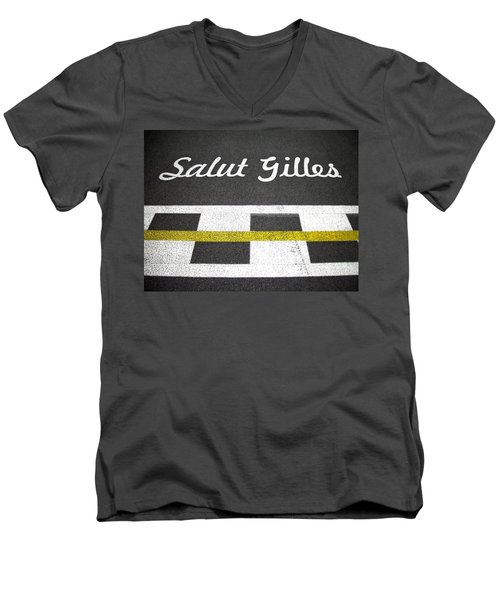 F1 Circuit Gilles Villeneuve - Montreal Men's V-Neck T-Shirt